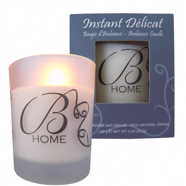 Bougies d`ambience INSTANT DELICATS 120g