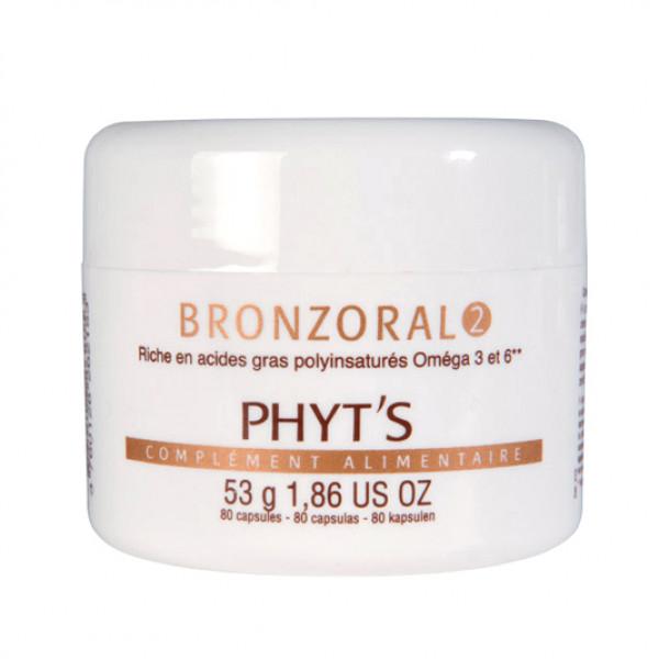 Phyts Bronzoral 2 80 kapselia EXP 7/2021