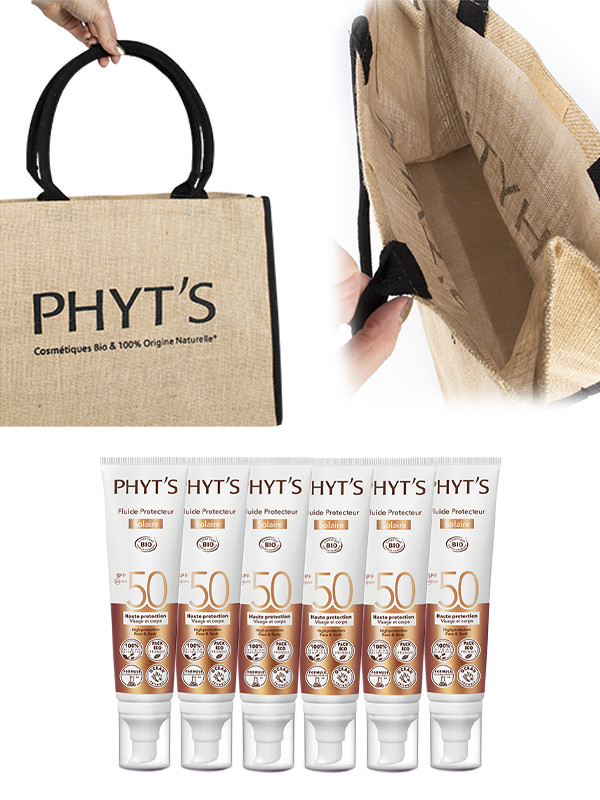 Phyts Solaire SPF50 6 kpl + kassi