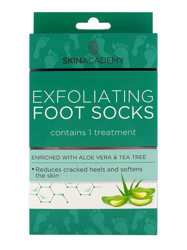 Skin Academy AloeVera & TeaTree Kuorivat sukat