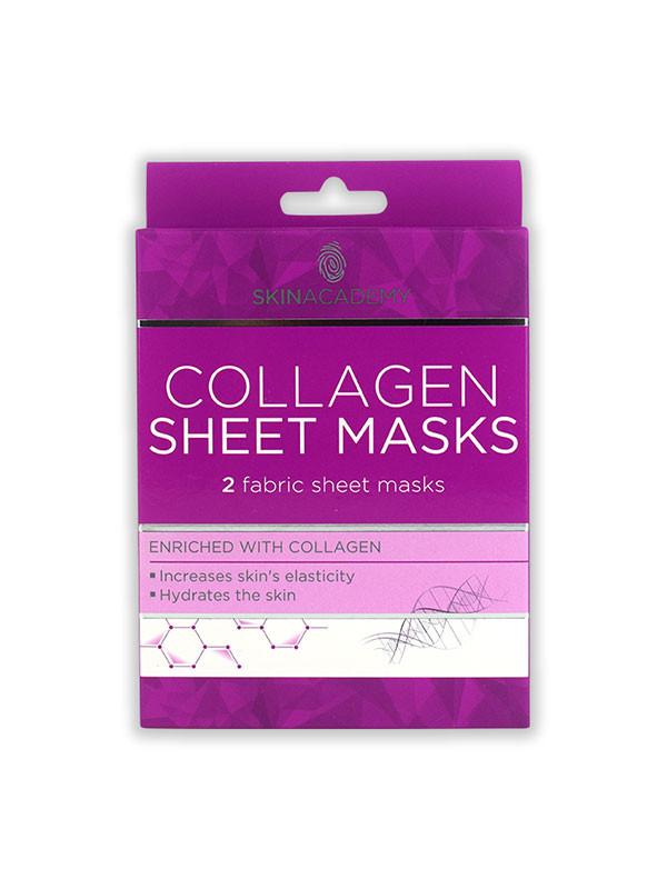 Skin Academy Rauhoittava hunaja kangasnaamio 2 kpl