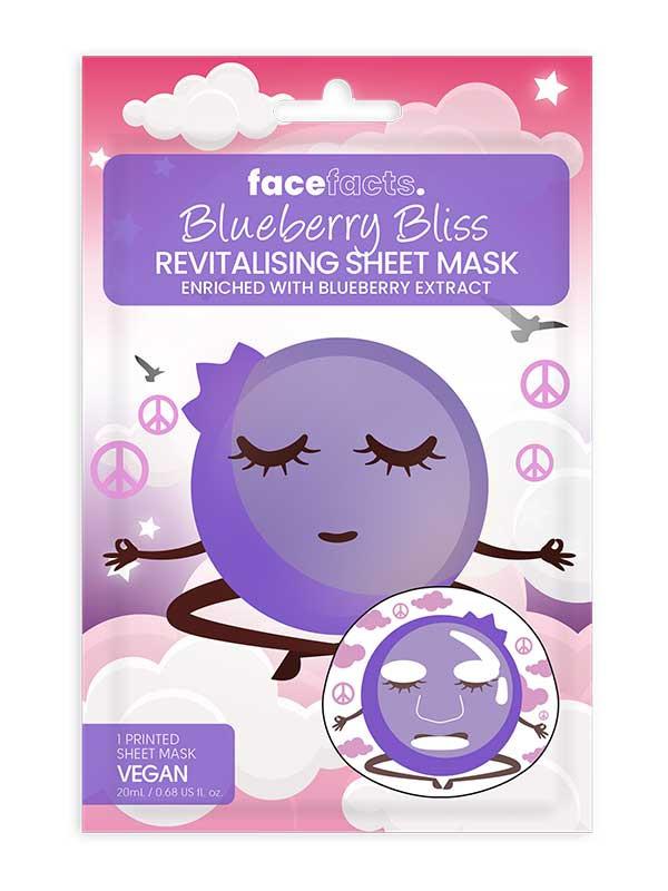 Face Facts kangasnaamio, kirsikka