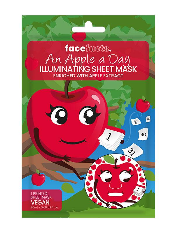 Face Facts kangasnaamio, persikka