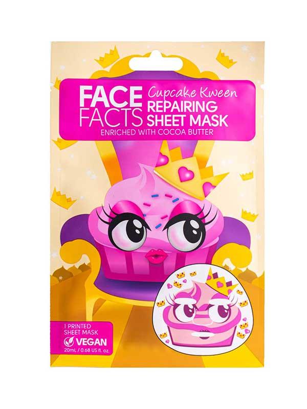 Face Facts 98% Natural Bamboo kangasnaamio