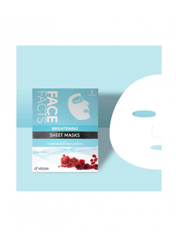 Face Facts kangasnaamio vesimeloni ja avocado 2kpl