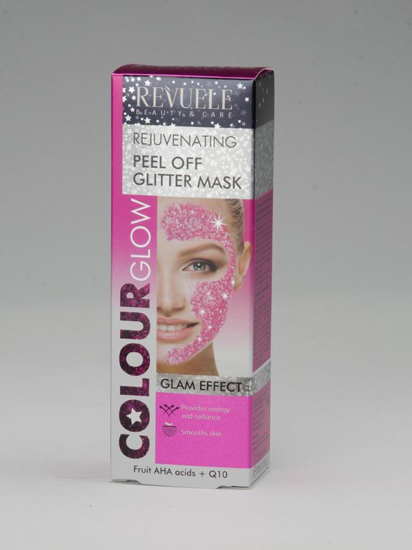 Peel of Glitter Mask, pink-naamio 80 ml