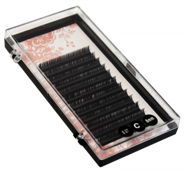 Unique Volyymiripset C-kaari 0,07x8 mm, musta