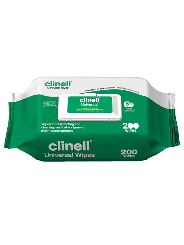 Clinell desinfiointipyyhe 22*28 cm 200 kpl