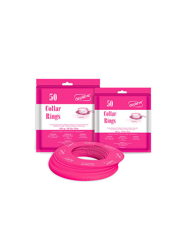 Depileve Collar Rings 50kpl  -  400g lämmittimeen