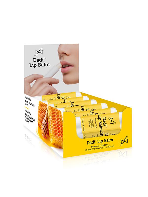 Dadi' Lip Balm -huulivoide 12 kpl myyntilaatikko