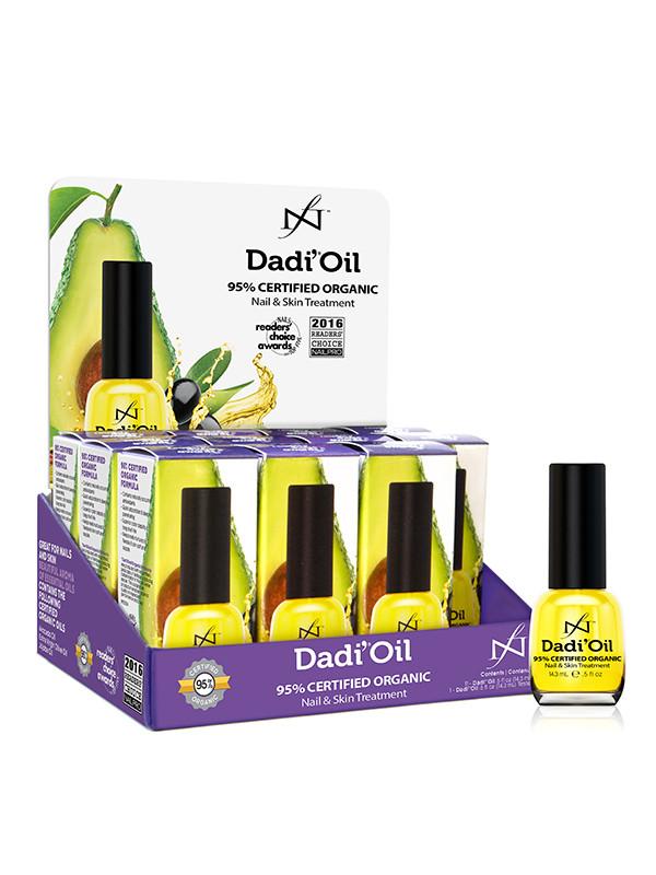 Dadi' Oil -hoitoöljy 14,3 ml x 12, myyntiteline