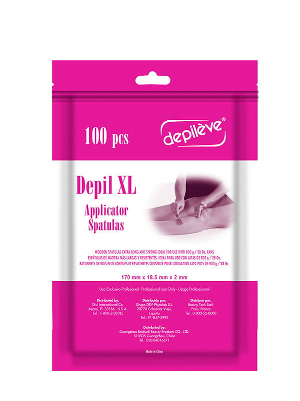Depileve XL Applicator Spatulas 100kpl