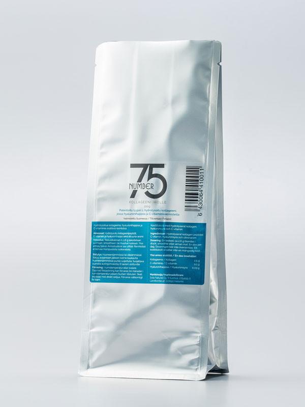 No75 Kollageenivalmiste täyttöpussi iholle 100 g