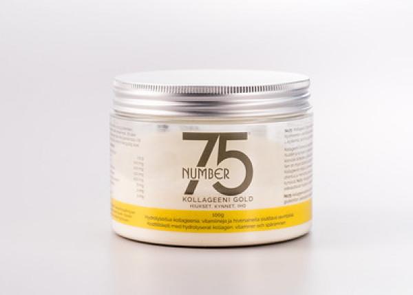 No75 Kollageeni Gold hiukset kynnet iho prk 100 g