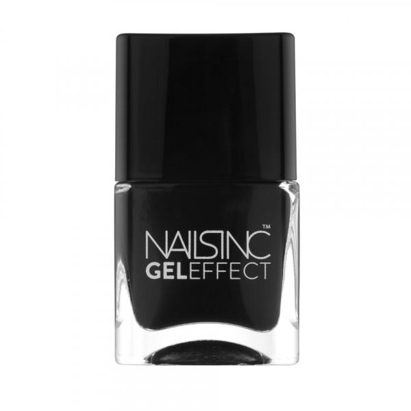 Nailsinc Gel Effect kynsilakka Black Taxi