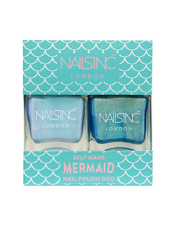 NailsInc  kynsilakkapakkaus Self Made Mermaid
