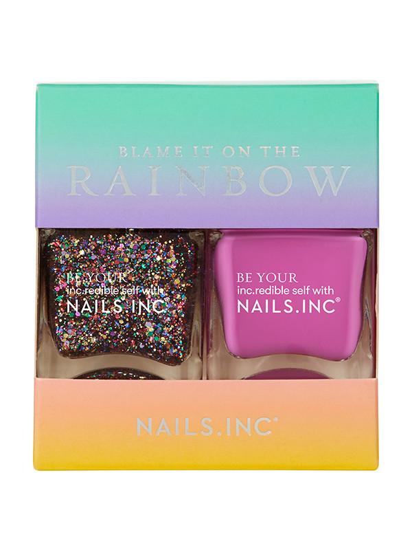 NailsInc  kynsilakkapakkaus Blame It OnThe Rainbow