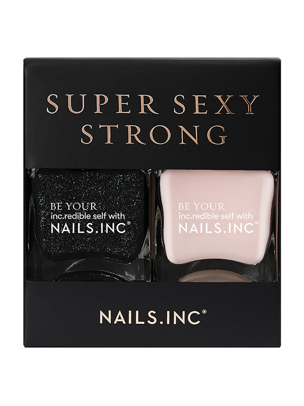 NailsInc  kynsilakkapakkaus Super Sexy Strong