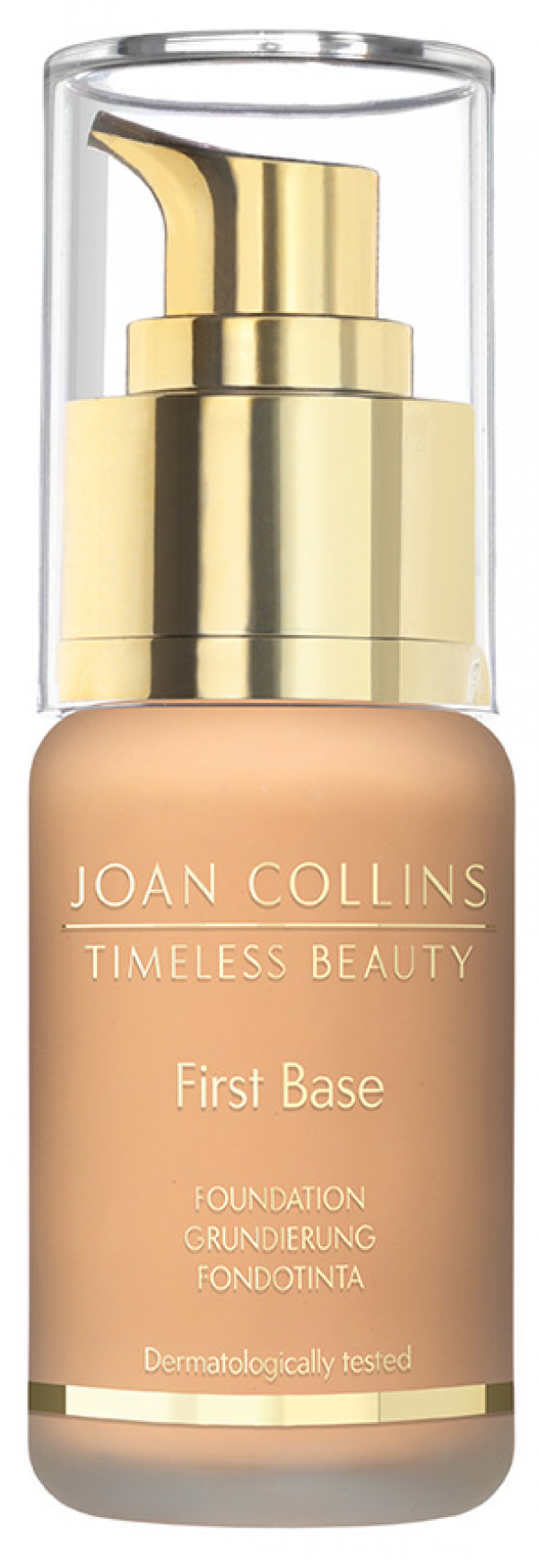 Joan Collins First Base Foundation, warm dark