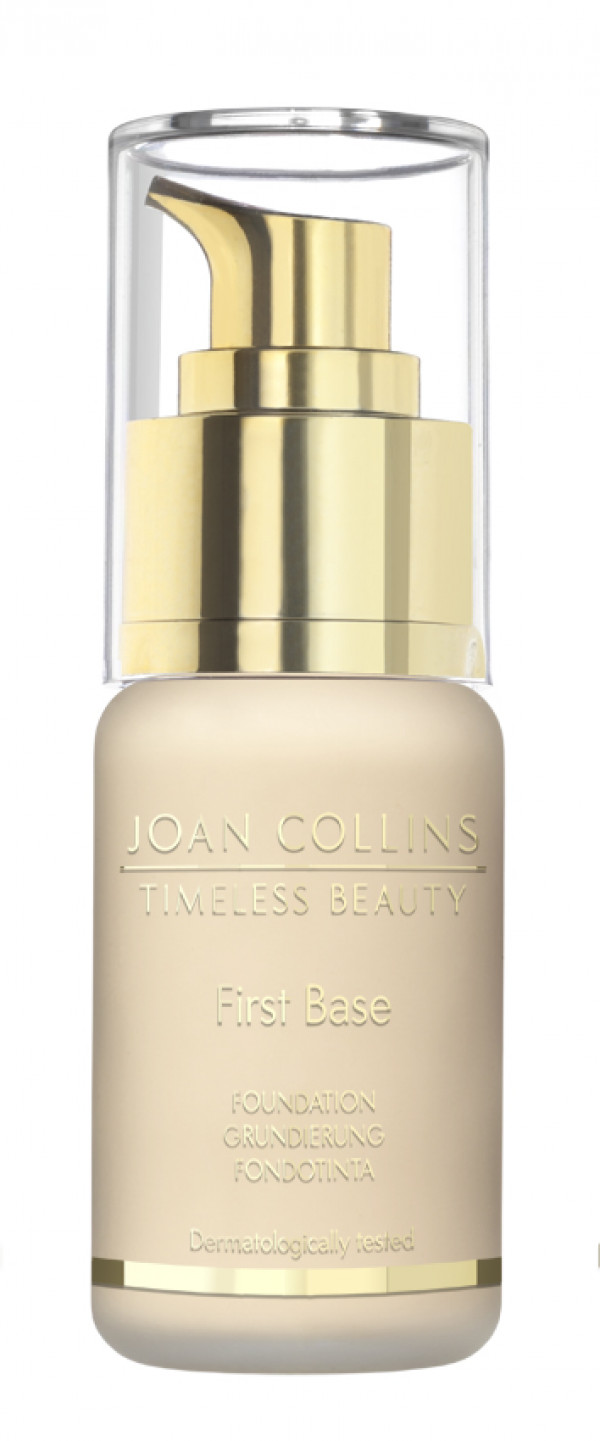 Joan Collins First Base Foundation warm extra fair
