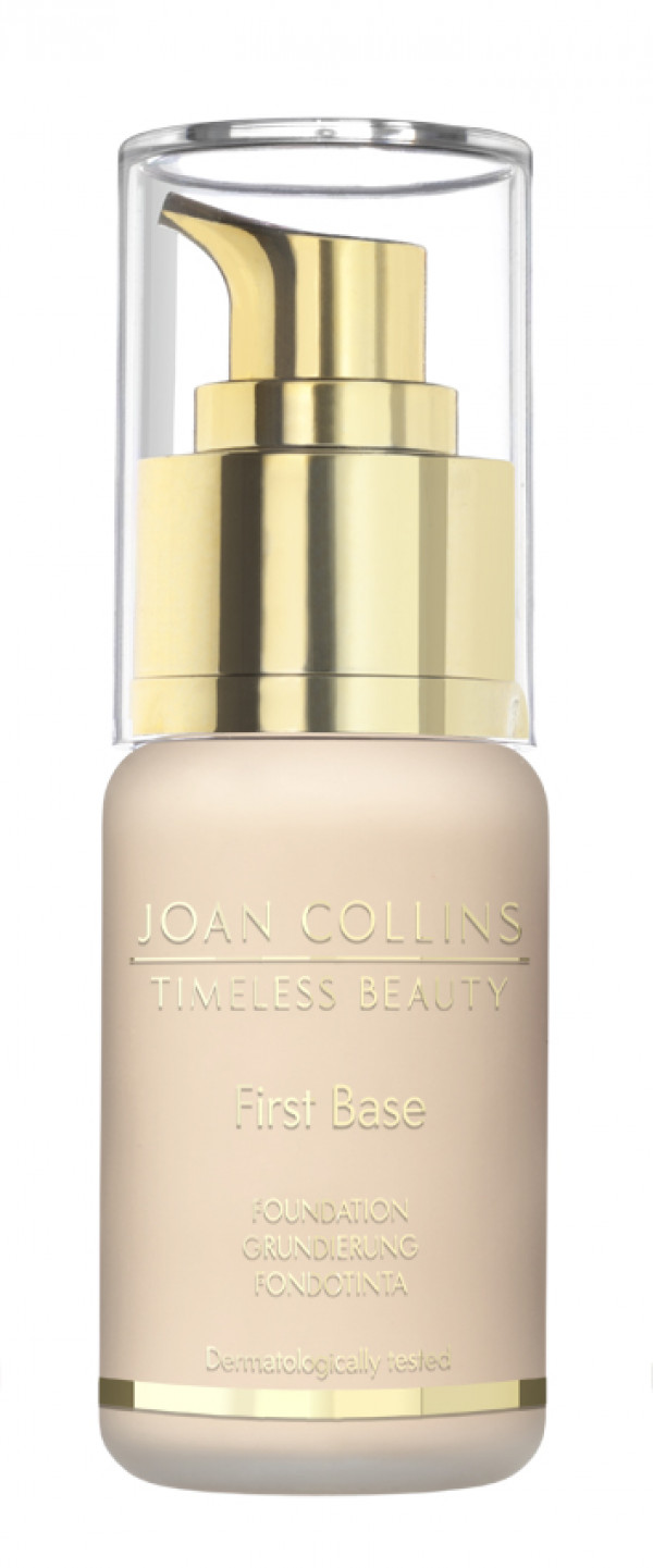 Joan Collins First Base Foundation cool extra fair