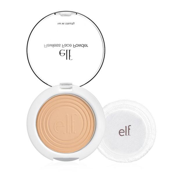 Elf essentials+ flawless face powder, light beige