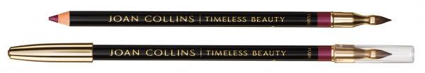 Joan Collins Contour Lip Pencil & Brush, plum