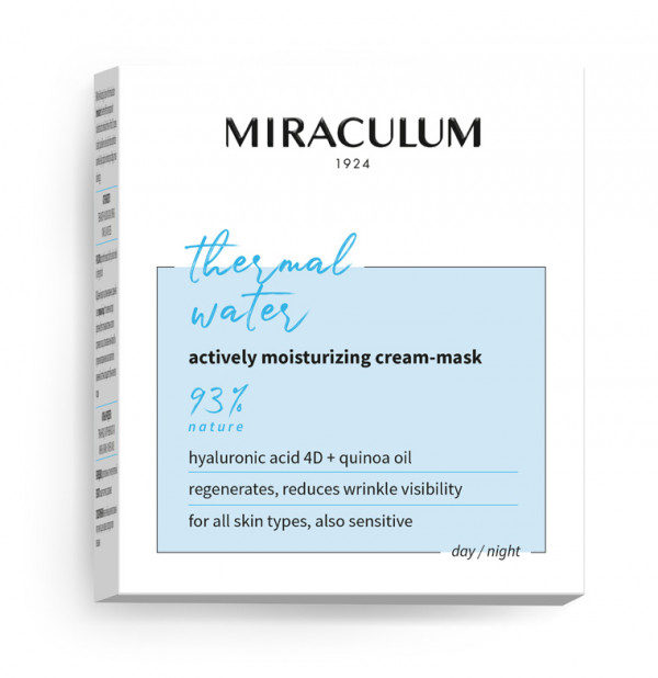 Miraculum Thermal Water Cream Mask 50 ml