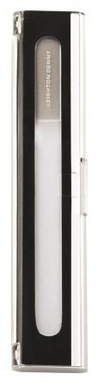 LD Crystal Nail File in aluminium case