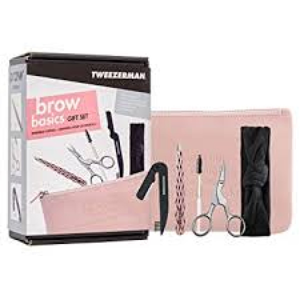 Tweezerman Brow Basics Gift Set