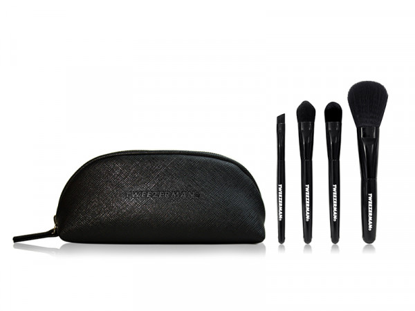 Tweezerman Mini Travel Kit Brush