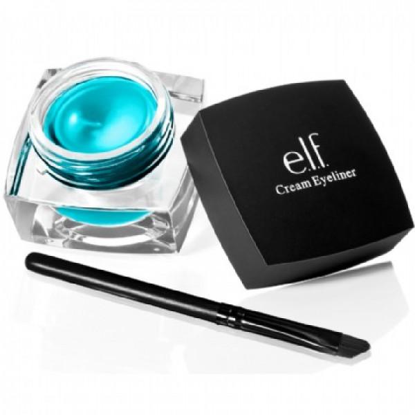 Elf Studio cream eyeliner, teal tease