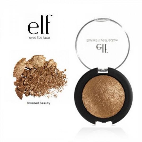 Elf Studio baked eyeshadow,bronzed beauty