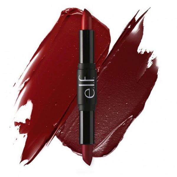 Elf Studio+ day&night lipstick duo, red hot reds