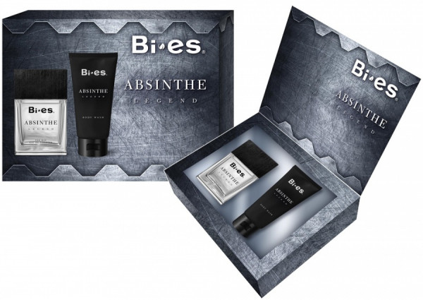 Bi-es Lahjapakkaus Absinte for Man edt &shower gel