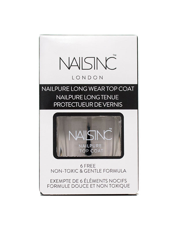 Nailsinc Nailpure6-free Top Coat