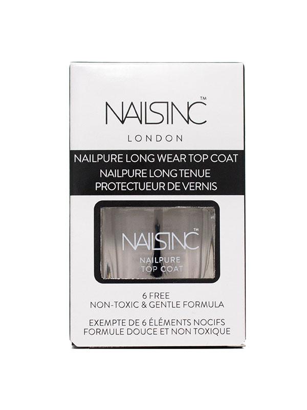 Nailsinc Nailpure6-free Top Coat