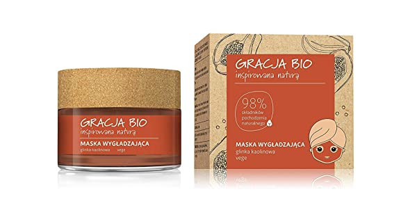 Gracja Bio Smoothing  face mask 50ml, kaoliinisavi
