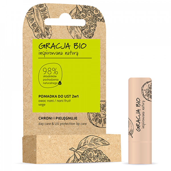 Gracja Bio Lip Balm 2in1  5g, noni