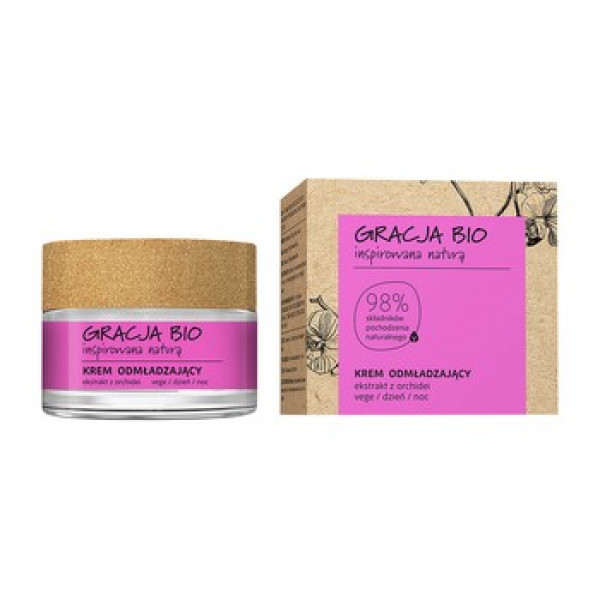Gracja Bio Rejuvenating Cream 50ml, orkideauute