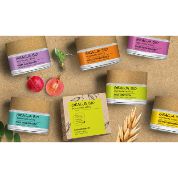 Gracja Bio Nourishing Cream 50ml, kaurauute