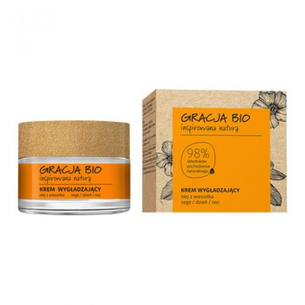 Gracja Bio Smoothing Cream 50 ml, helokkiöljy