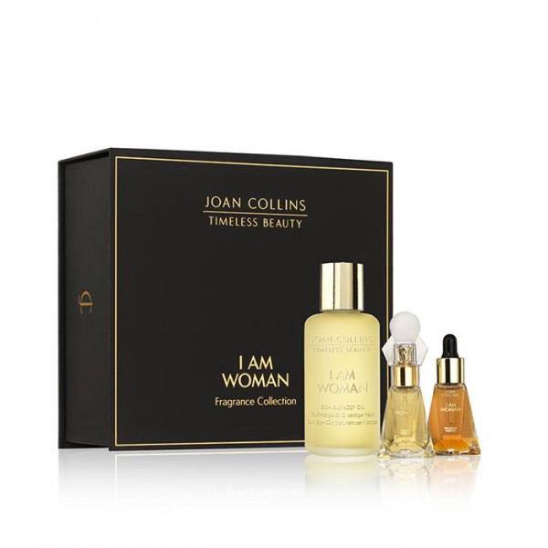 Joan Collins I AM WOMAN - Fragrance Silk Collectio