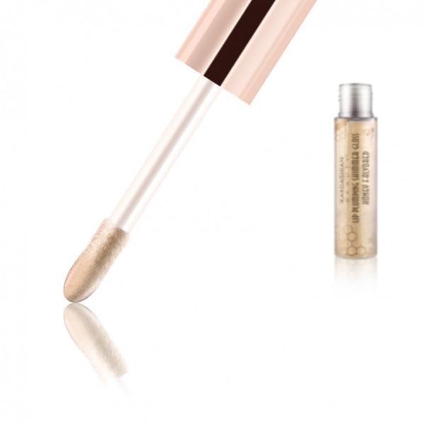 Kardashian Lip Plumping Shimmer Gloss, Ambre