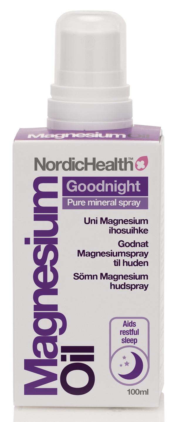NordicHealth uni magnesium  ihosuihke 100ml
