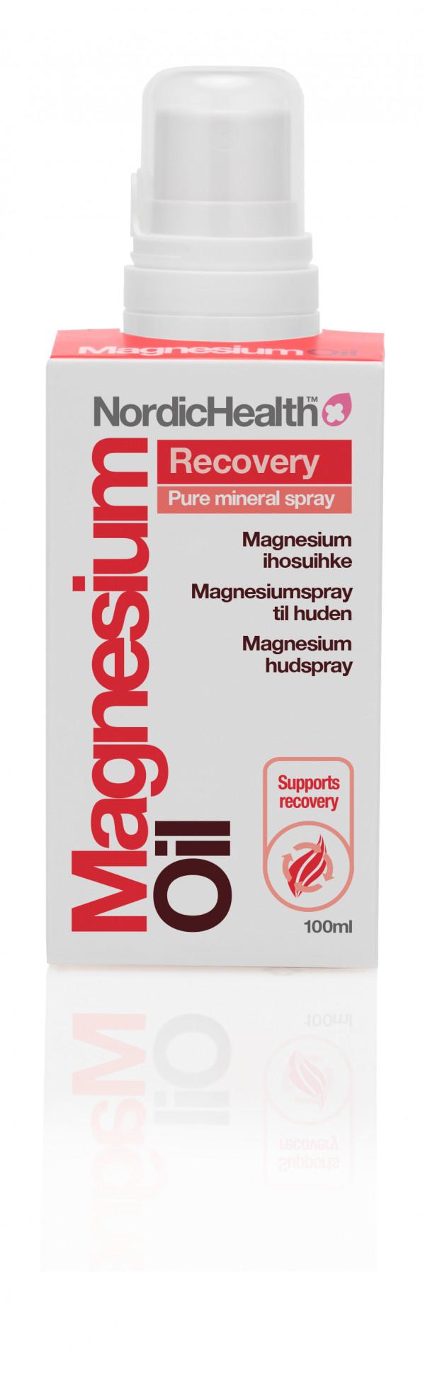 NordicHealth recovery magnesium  ihosuihke 100ml