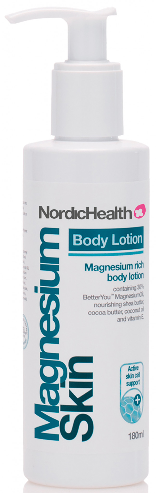 NordicHealth magnesium body lotion 180ml