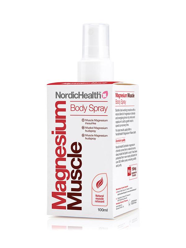 NordicHealth Muscle Magnesium ihosuihke 100ml