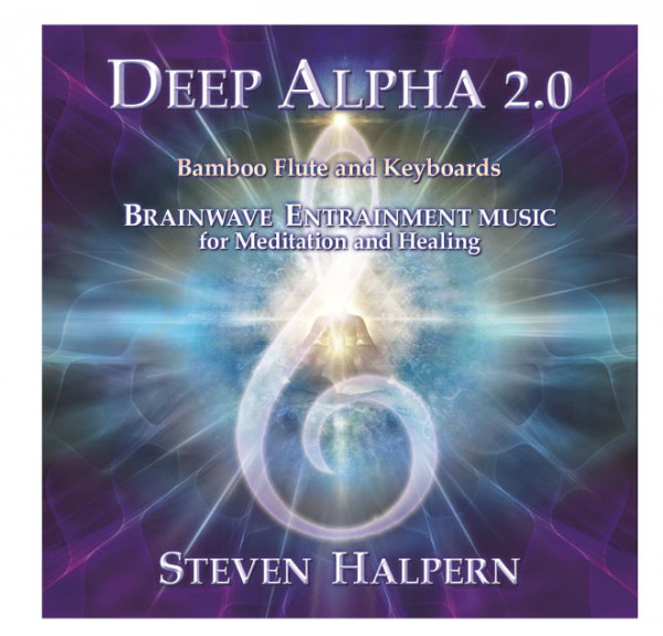 Deep Alpha 2 CD  Steven Halpern