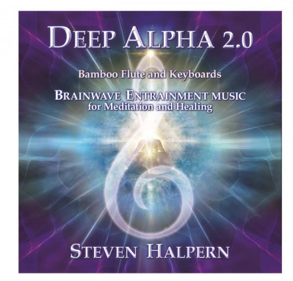 Deep Alpha 2 CD  Steven Halpern